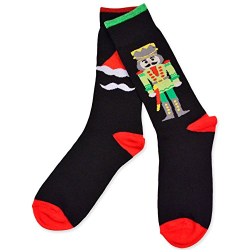 Nutcracker and Santa Socks