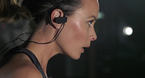 58efa12c6bf Photive PH-BTE70 Wireless Bluetooth Earbuds. Sweatproof Secure Fit  Headphones for Running, Gym