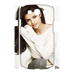 J-LV-F Selena Gomez Customized Hard 3D Case For Samsung Galaxy S3 I9300