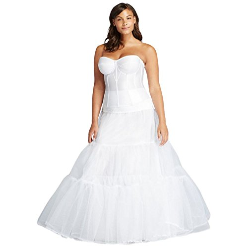 David\'s Bridal Plus Size Ball Gown Silhouette Slip Style ...