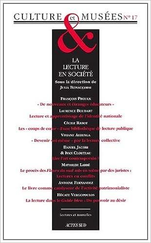 Livres gratuits Culture & Musées, N° 17 : La lecture en société pdf ebook
