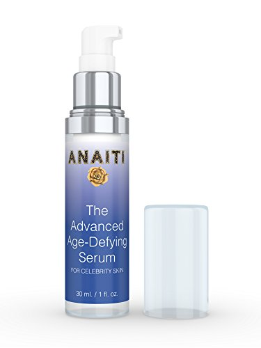 Age Defying Face Serum with Hyaluronic Acid and Peptides | Dermatologist Anti-Aging Skin Care Best For Wrinkles, Dark Circles, Spots, Collagen | Great For Eyes or as Pore Minimizer| 1 oz.