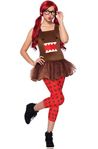 Nerd Domo Costume - Teen Medium/Large -