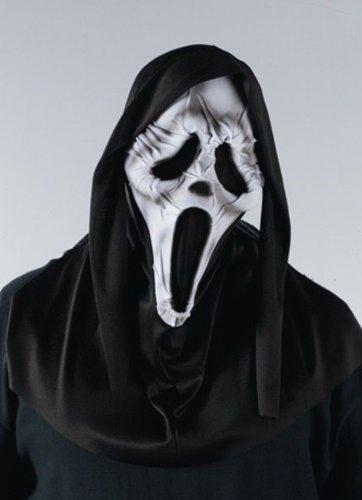 [Scream 4 Ghost Face Mummy Mask] (Ghost Mummy Costume)