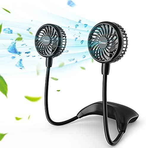 11000mAh Portable Personal Neck Fan, TISOU Wearable...