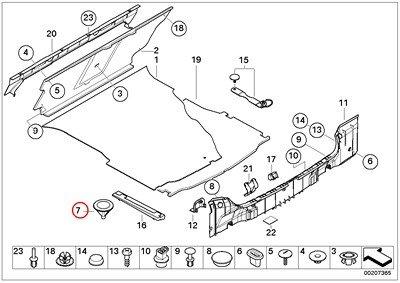 amazon bmw genuine car tool lifting jack trunk floor trim panel 2000 BMW 320I bmw genuine car tool lifting jack trunk floor trim panel pad h 50mm 320i 323ci