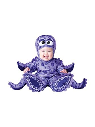 InCharacter Costumes Baby's Tiny Tentacles Octopus Costume, Purple, Small