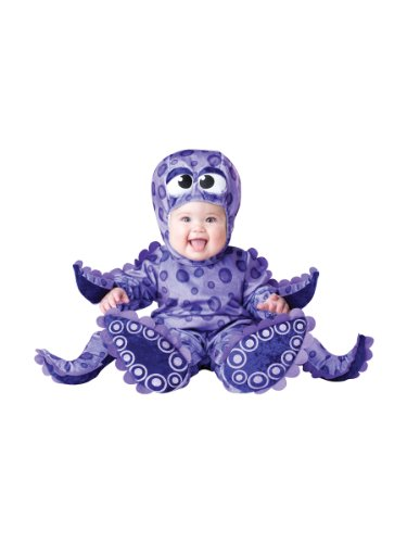 InCharacter Costumes Baby's Tiny Tentacles Octopus Costume, Purple, Small ()