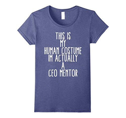 Costume Ceo (Womens Human Costume CEO Mentor Business OG Boss Gift Shirt Small Heather)
