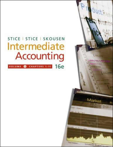 Intermediate Accounting, Volume 1 (with Business and Company Resource Center) (Available Titles CengageNOW)