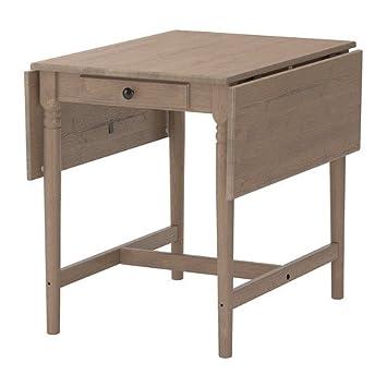 Klapptisch küche grau  IKEA INGATORP -Klapptisch grau-braun - 59/88/117x78 cm: Amazon.de ...