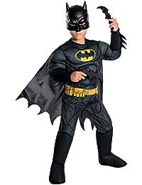 Boys DC Comics Deluxe Batman Costume, Small, Multicolor