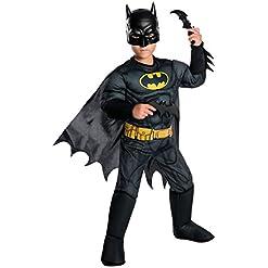 Rubie's Boys DC Comics Deluxe Batman Costume, Small, Multicolor