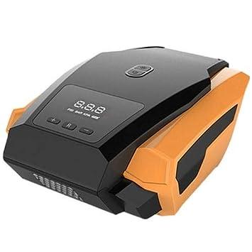 HaiMa Coche Inflable Bomba 12V Portátil Compresor De Aire del Automóvil Herramienta-Versión De Pantalla Digital De Actualización Amarilla: Amazon.es: Coche ...
