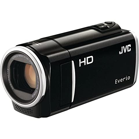 JVC GZ-HM50 HD Everio Memory Camcorder, 40x Optical Zoom, 2.7 inch LCD, 8GB Built-in Flash Memory, Face Detection, SD/SDHC/SDXC Card Slot, (Jvc Everio Sd Card)