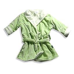 I Play - Baby Girls Fleece Robe, Mint 18632-Infantsizes
