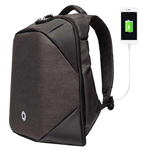 OZUKO Anti Theft Business Laptop Backpack with USB Chargi...