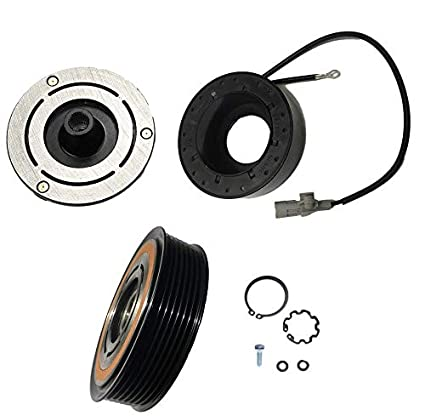 Amazon.com: 2012 Toyota FJ Cruiser 4.0L 10S17C AC A/C Compressor Clutch Kit (PULLEY, BEARING, COIL, PLATE): Automotive