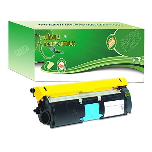 - ABCink Compatible Toner Cartridge Replacements for Konica-Minolta 1710587-007,for use in Konica-Minolta 2400 2400w 2430dl 2450 2480 2480MF 2490,4500 Yields(1 Pack,Cyan)