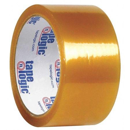Natural Rubber Tape, 1.7 Mil, 2''x110 yds, Clear, PK36