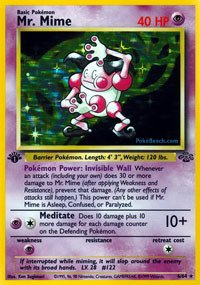 Pokemon - Mr. Mime (6) - Jungle - Holo