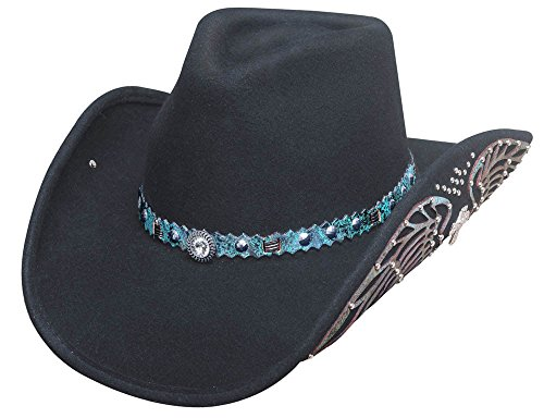 Bullhide Black Nobody But You Felt Western Hat