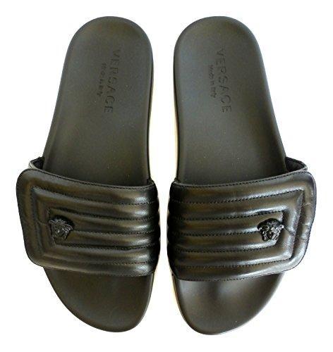 Versace Men's Fashion Sandals Black Black