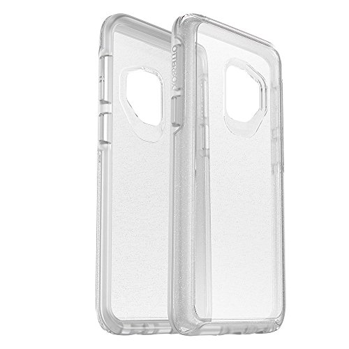 OtterBox SYMMETRY CLEAR SERIES Case for Samsung Galaxy S9 – Frustration Free Packaging – STARDUST (SILVER FLAKE/CLEAR)