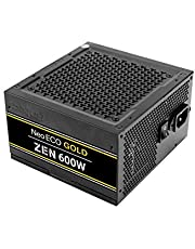 Antec NeoECO Gold Zen Series NE600G Zen 600W ATX12V 2.4 80 Plus Gold Certified Non-Modular Active PFC Power Supply