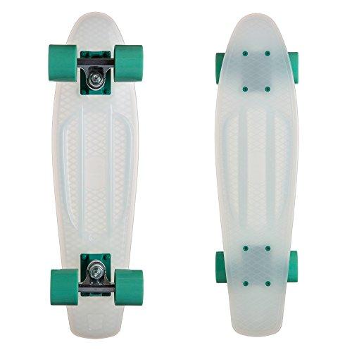 Cheap Ten Toes Quip Complete 22.5″ Classic Plastic Mini Cruiser Skateboards