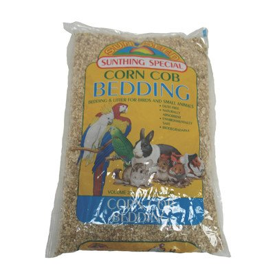 Cob Bedding [Set of 2] Size: 50 Pound by Sun Seed