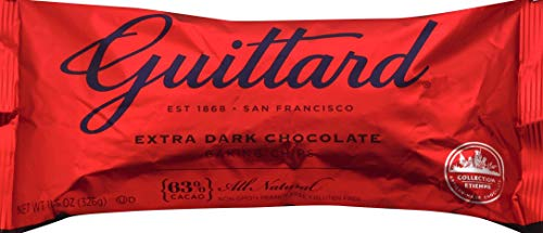 Guittard Extra Dark 63% Chocolate, 11.5 oz