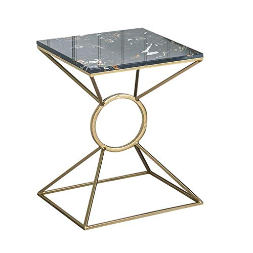 Amazon Com Ms Coffee Tables Metal Table Marble Side Table Balcony