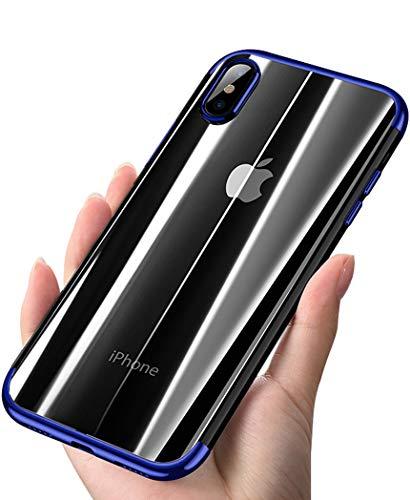 ANOLE Case iPhone Xs Max, Ultra-Thin Clear Soft Flexible TPU Slim #03