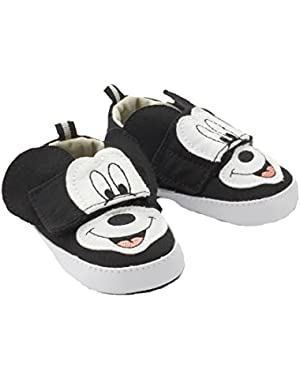 Disney Mickey Mouse Infant's Canvas Sneakers (1 (6wk - 3M))