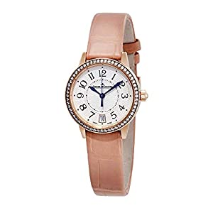 Best Epic Trends 41sNj5aM94L._SS300_ Jaeger LeCoultre Rendezvous 18kt Pink Gold Silver Dial Cream Leather Ladies Watch Q3512520