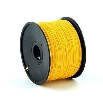 Bobina de 1Kg. Filamento Dorado Premium 1.PLA 75 mm para Impresora ...
