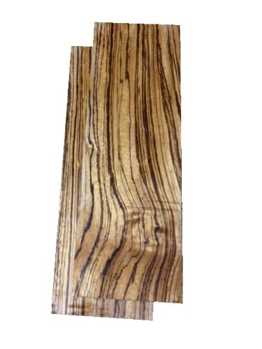 Zebrawood Lumber 3/4''x4''x12'' - 2 Pack by White's Woods