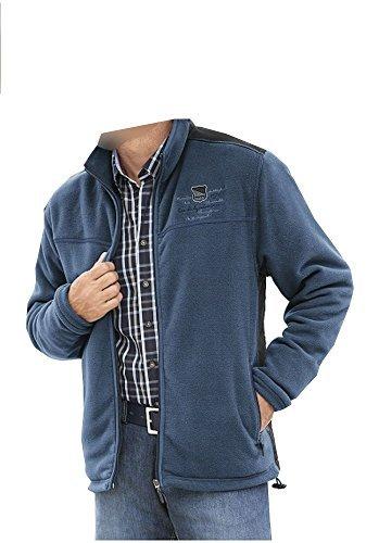 Homme Homme Homme Veste Vêtements Bleu Homme Par Par Par Par Hajo Polaire 48 aaXfqvB