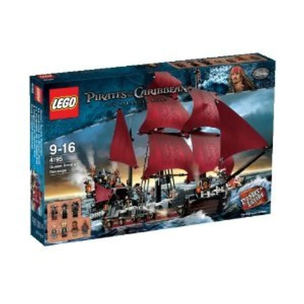 [해외] LEGO-PIRATES OF THE CARIBBEAN 4195 QUEEN ANNE'S REVENGE
