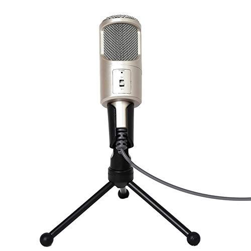 Hancoc Veelzijdige interface 3.5mm bekabelde computer Microfoon Microfoon Computer Microfoon K Song Microfoon Game