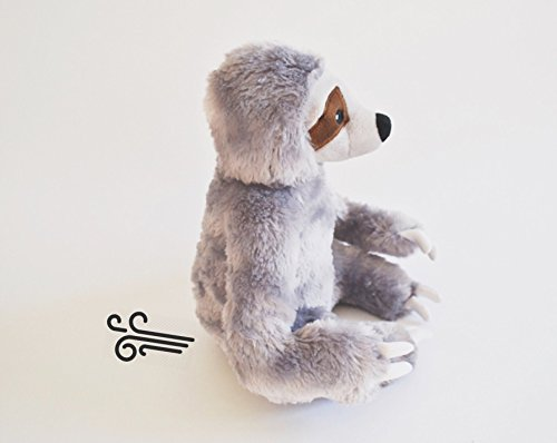 Stanley the Stinky Sloth, Farting Plush Dog Toy with Sound Insert by The Farting Dog Company (Image #2)