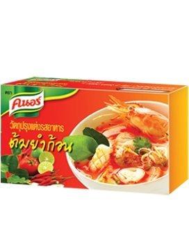 Thai Food Knorr Tom Yum Stock Cube 24 G. Pack 6