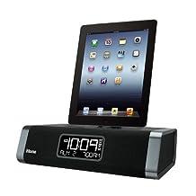 iHome iDL45 Lightning Dock Clock Radio and USB Charge/Play for iPad/iPod and iPhone 5/5S and 6/6Plus iPad Air /iPad Mini (Certified Refurbished)