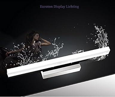 Komplett Neu LED Spiegelleuchte 7002B-80cm nano Glas Edelstahl 12 watt kaltweiß  JJ66