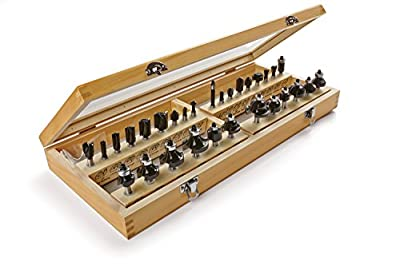Irwin Tools 1901049 Marples Master Router Bit Set (30 Piece) by Newell Brands