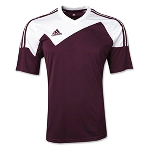 - Adidas Youth Toque 13 Jersey (Maroon/White) (Youth Medium)