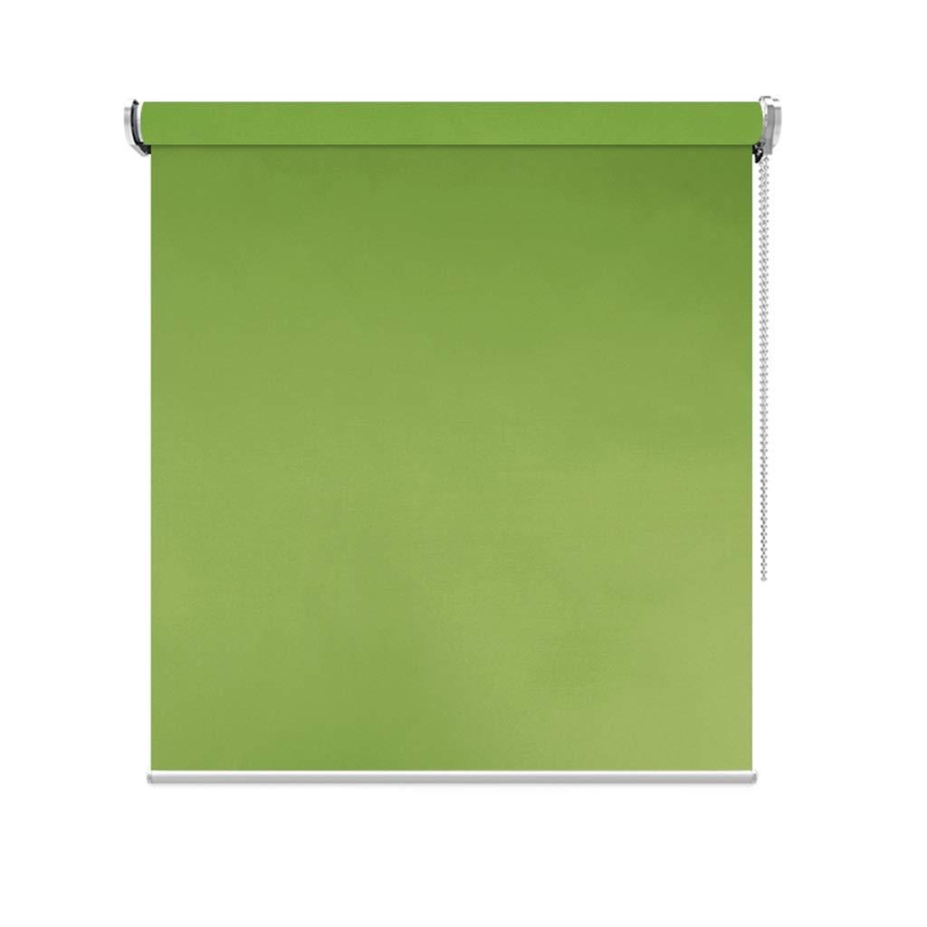 Rollos Grün Roller Shades - Stoffjalousien für Bad Büro, 80 cm   90 cm   100 cm breit, ohne zu Bohren (größe   90×200cm) B07NWG5XVF Jalousien