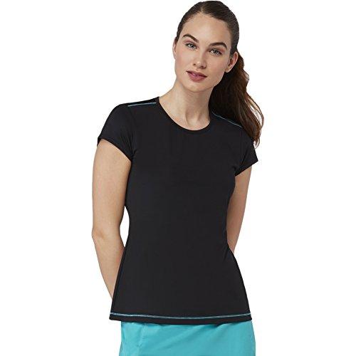 a68c688870c Fila Women s Court Allure Cap Sleeve Top T-Shirt