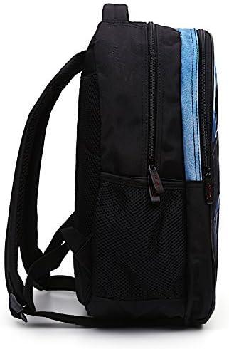 Cool 3D Fireworks Children School Book Bag Kids Printing Backpacks
